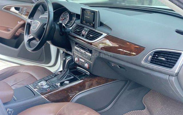 Audi A6 - Sx 2016, màu trắng nội thất nâu12