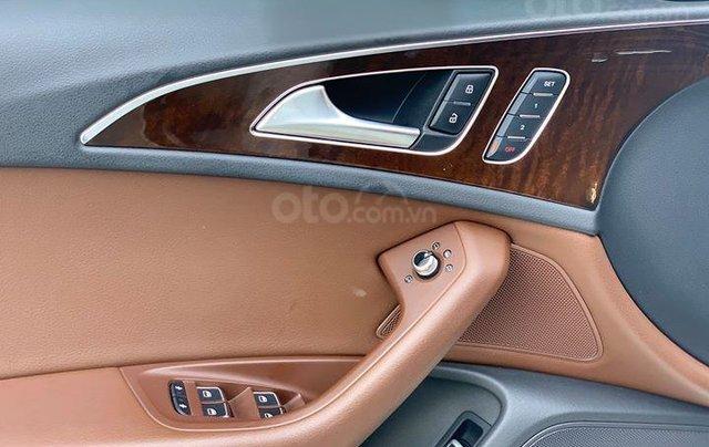 Audi A6 - Sx 2016, màu trắng nội thất nâu14