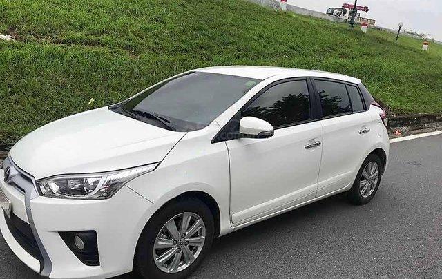 Bán Toyota Yaris năm sản xuất 2016, màu trắng, nhập khẩu nguyên chiếc còn mới, giá chỉ 526 triệu0