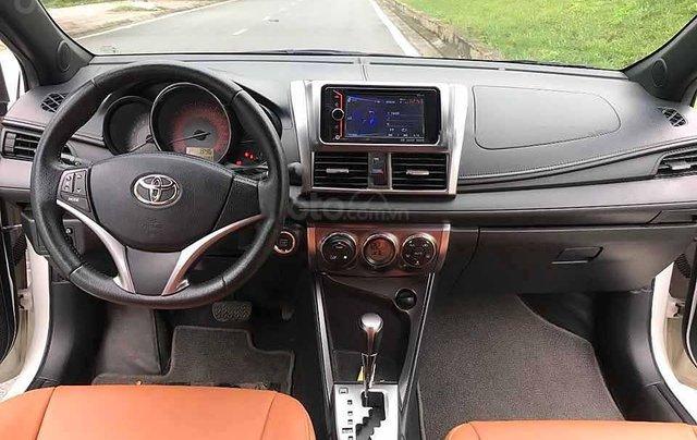Bán Toyota Yaris năm sản xuất 2016, màu trắng, nhập khẩu nguyên chiếc còn mới, giá chỉ 526 triệu3