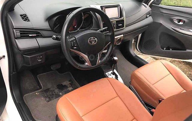 Bán Toyota Yaris năm sản xuất 2016, màu trắng, nhập khẩu nguyên chiếc còn mới, giá chỉ 526 triệu1