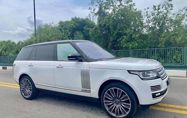 Cần bán gấp LandRover Range Rover năm sản xuất 2016, màu trắng, xe nhập  0
