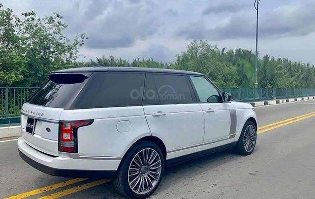 Cần bán gấp LandRover Range Rover năm sản xuất 2016, màu trắng, xe nhập  1