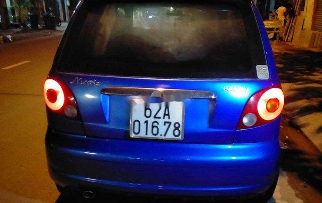 Cần bán Daewoo Matiz đời 2007, màu xanh lam, giá chỉ 82 triệu8