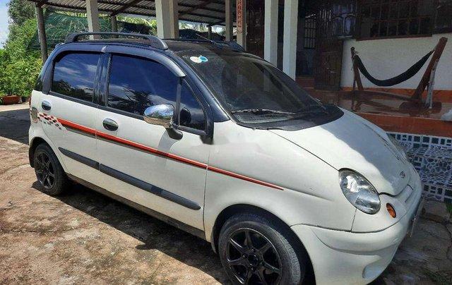 Bán Daewoo Matiz sản xuất 2008, màu trắng, xe nhập0