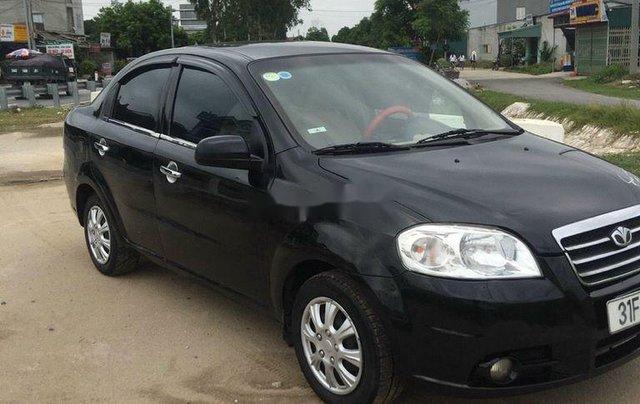 Cần bán Daewoo Gentra sản xuất 2010, màu đen0