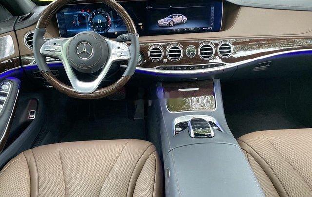 Bán Mercedes S450L đời 2020, màu đen6