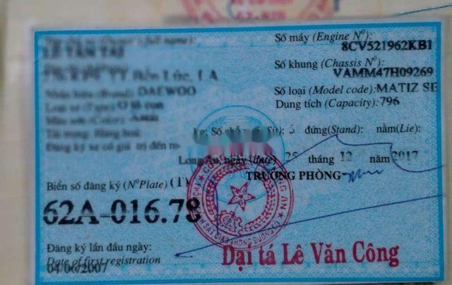 Cần bán Daewoo Matiz đời 2007, màu xanh lam, giá chỉ 82 triệu7