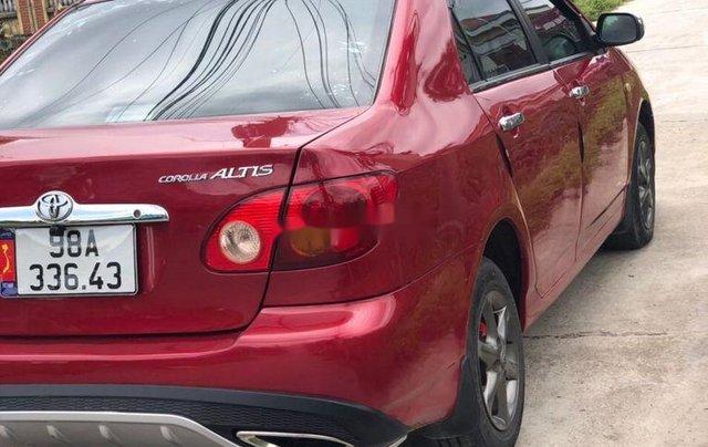 Cần bán lại xe Toyota Corolla Altis 2003, màu đỏ chính chủ, 186tr2