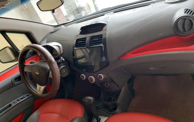 Bán Chevrolet Spark sản xuất 2015, màu trắng xe gia đình giá cạnh tranh2