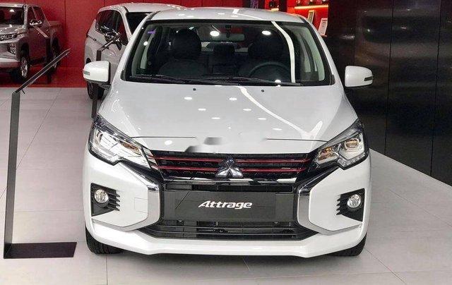 Bán Mitsubishi Attrage năm sản xuất 2020, màu trắng, nhập khẩu nguyên chiếc1