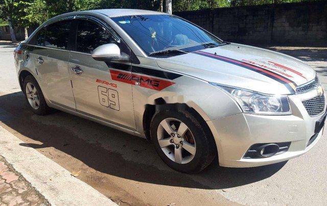 Bán ô tô Chevrolet Cruze đời 2010, màu bạc, nhập khẩu 1