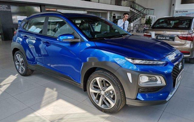 Bán Hyundai Kona sản xuất năm 2020, màu xanh lam, 614tr0