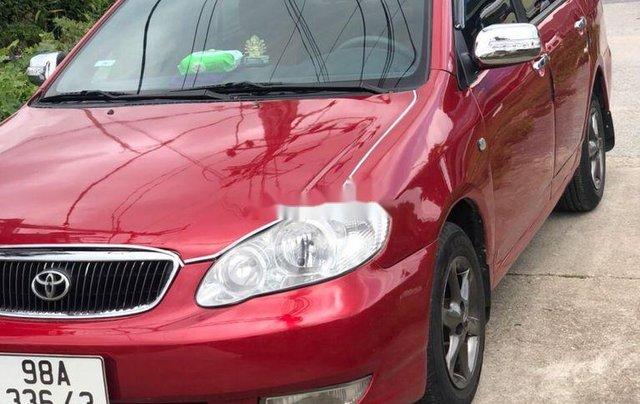 Cần bán lại xe Toyota Corolla Altis 2003, màu đỏ chính chủ, 186tr0