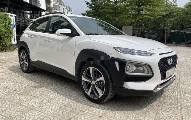 Bán Hyundai Kona đời 2018, màu trắng, giá 658tr8