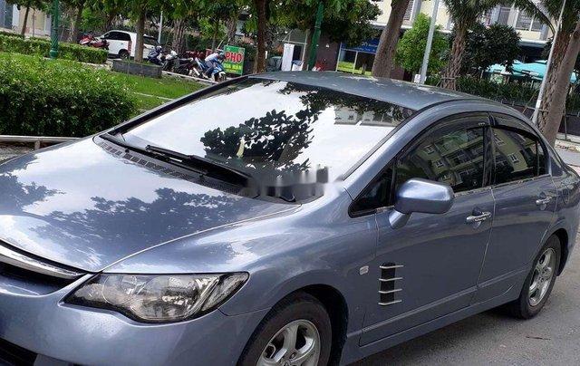 Chính chủ bán lại xe Honda Civic năm sản xuất 2007, màu xanh lam4