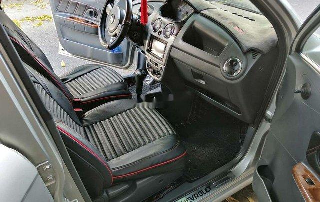 Bán Chevrolet Spark đời 2009, màu bạc, số tự động, giá tốt7