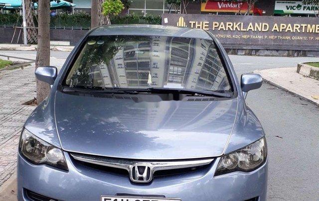 Chính chủ bán lại xe Honda Civic năm sản xuất 2007, màu xanh lam2