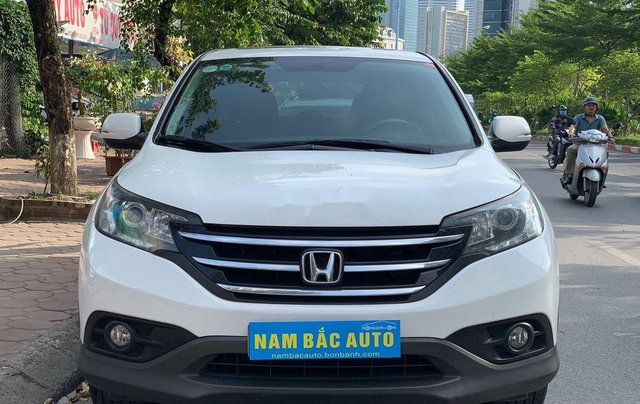 Chính chủ bán ô tô Honda CR V 2014, màu trắng0