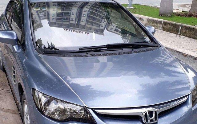 Chính chủ bán lại xe Honda Civic năm sản xuất 2007, màu xanh lam0