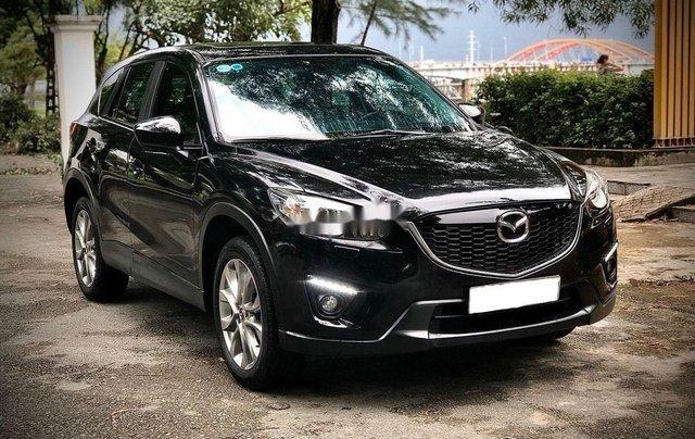 Bán Mazda CX 5 đời 2015, màu đen, giá tốt0