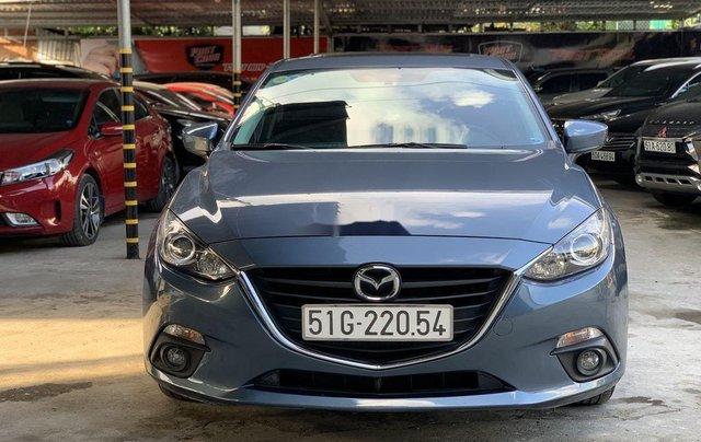 Cần bán Mazda 3 1.5AT năm 2016, màu xanh lam còn mới  0