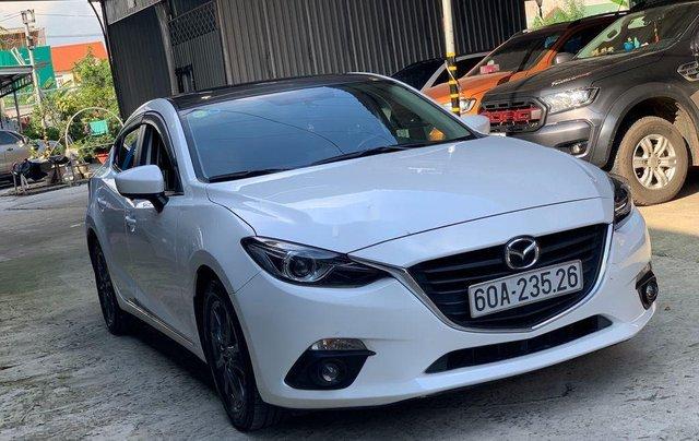 Bán Mazda 3 1.5AT đời 2015, màu trắng, 489 triệu0