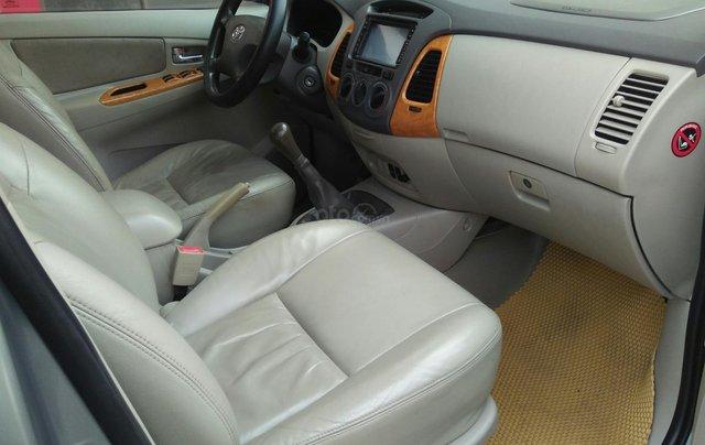 Bán xe Toyota Innova đời 2011 bản GSR, màu bạc còn mới4