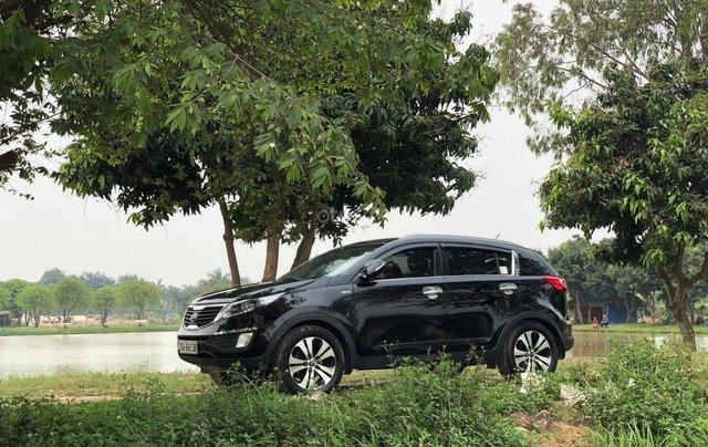 Cần bán Kia Sportage năm sản xuất 2010, màu đen, nhập khẩu nguyên chiếc chính chủ, giá chỉ 456 triệu1