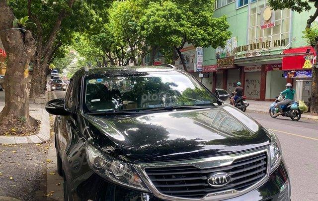Cần bán Kia Sportage năm sản xuất 2010, màu đen, nhập khẩu nguyên chiếc chính chủ, giá chỉ 456 triệu0