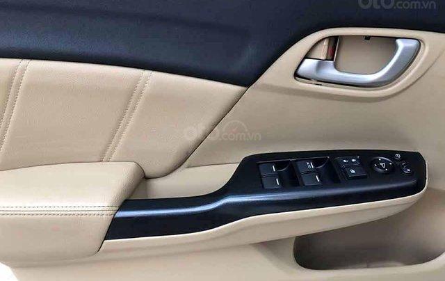 Cần bán xe Honda Civic 1.8 AT đời 2015, màu trắng, nhập khẩu nguyên chiếc  3