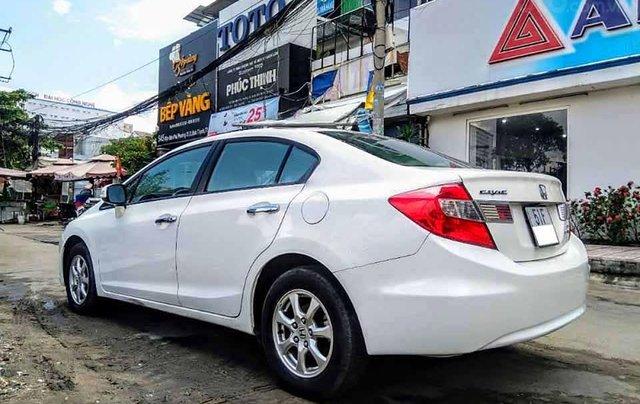 Cần bán xe Honda Civic 1.8 AT đời 2015, màu trắng, nhập khẩu nguyên chiếc  1