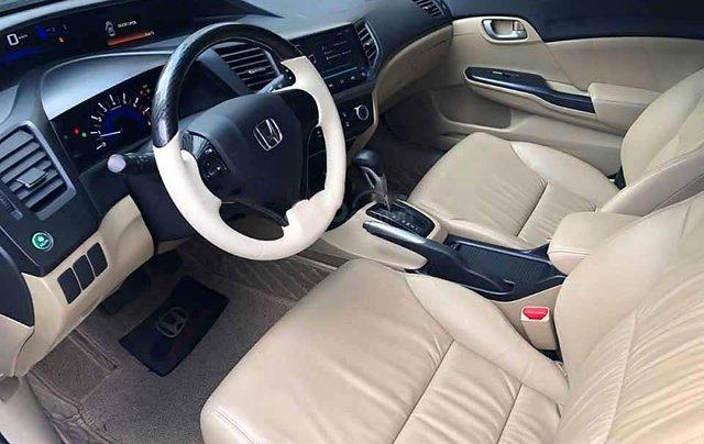 Cần bán xe Honda Civic 1.8 AT đời 2015, màu trắng, nhập khẩu nguyên chiếc  2