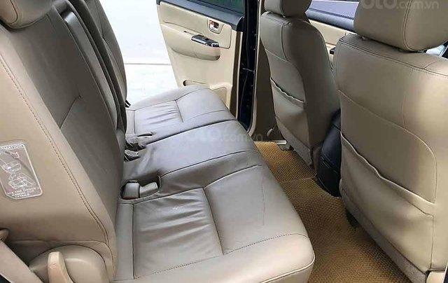 Cần bán Toyota Fortuner 2.7V 4x2 AT năm sản xuất 2013, màu đen  4