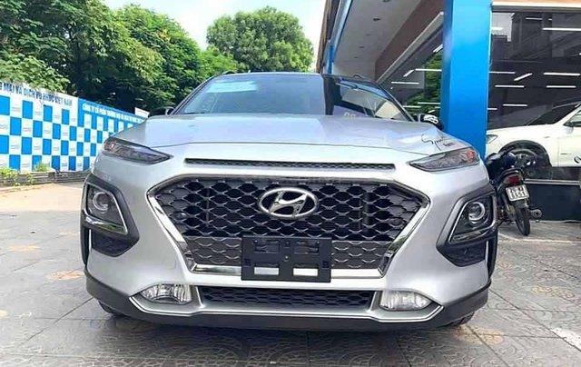 Cần bán Hyundai Kona 1.6 Turbo đời 2019, màu bạc còn mới4