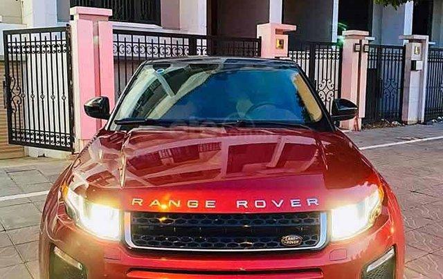 Bán LandRover Range Rover Evoque SE Plus đời 2018, màu đỏ, nhập khẩu nguyên chiếc như mới0