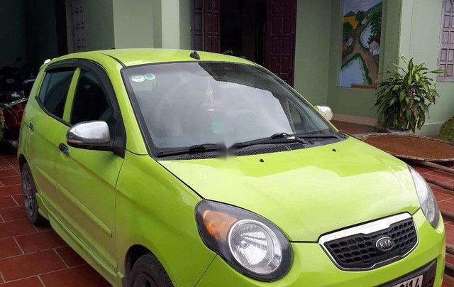Bán Kia Morning 2011, nhập khẩu, màu xanh cốm