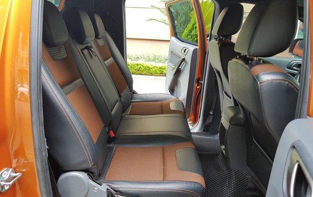 Cần bán xe Ford Ranger AT màu cam, năm sản xuất 2016, giá thấp, giao nhanh toàn quốc7