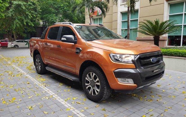 Cần bán xe Ford Ranger AT màu cam, năm sản xuất 2016, giá thấp, giao nhanh toàn quốc4