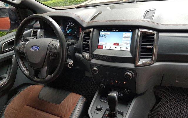 Cần bán xe Ford Ranger AT màu cam, năm sản xuất 2016, giá thấp, giao nhanh toàn quốc5