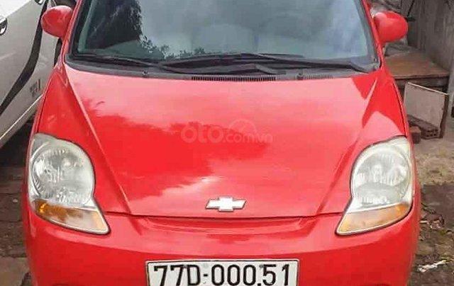 Bán xe Chevrolet Spark Lite 2013, màu đỏ còn mới1