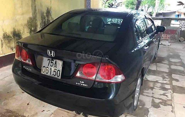 Bán Honda Civic 1.8 MT đời 2009, màu đen còn mới1