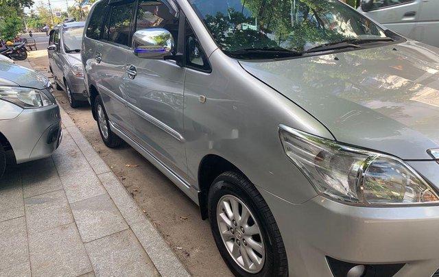 Bán Toyota Innova năm sản xuất 2013, màu vàng cát, giá 380tr1