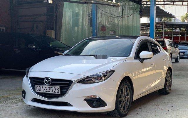 Bán Mazda 3 1.5AT đời 2015, màu trắng, 489 triệu1