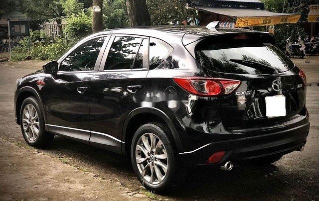 Bán Mazda CX 5 đời 2015, màu đen, giá tốt10