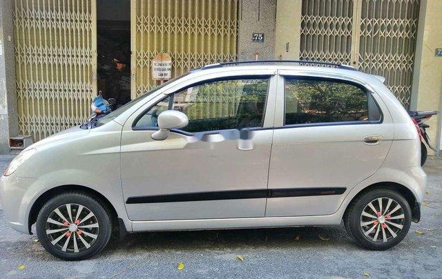 Bán Chevrolet Spark đời 2009, màu bạc, số tự động, giá tốt3