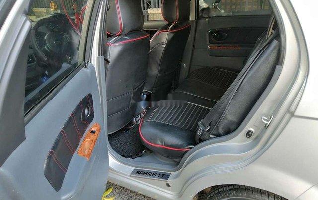 Bán Chevrolet Spark đời 2009, màu bạc, số tự động, giá tốt10
