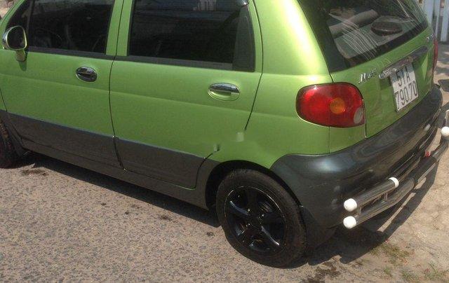 Bán xe Daewoo Matiz năm 2005, màu xanh cốm0