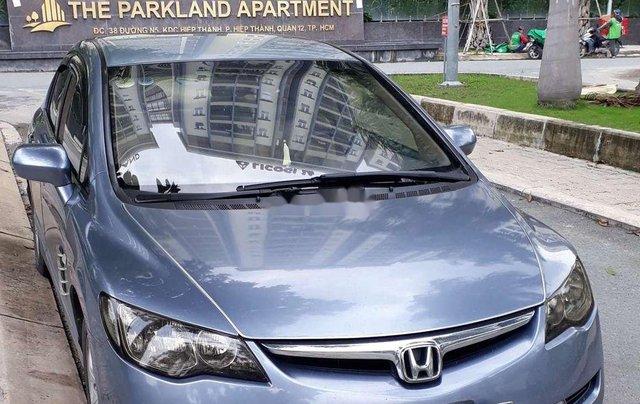 Chính chủ bán lại xe Honda Civic năm sản xuất 2007, màu xanh lam3