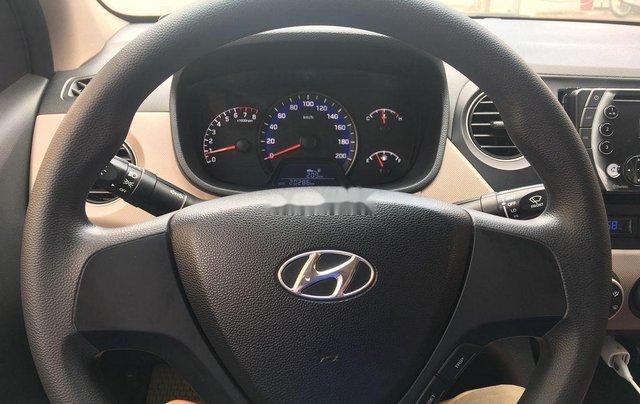 Bán Hyundai Grand i10 đời 2018, màu bạc như mới 9